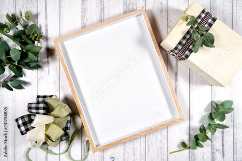 Fotografia, Obraz Artwork poster print wood frame