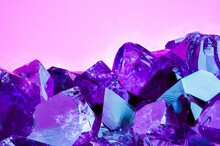 Amethyst Bright Pink Purple Colorful Background