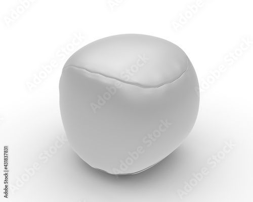 Promotional Kick Ball Hacky Sack Kids Toy For Mockup, 3d render illustration. - fototapety na wymiar