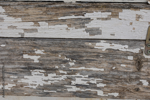 Fototapeta natural background from old brown planks in close-up obraz