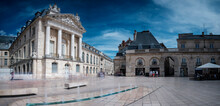 France, Cote-dOr, Dijon, Town Square In Front Of Palace Of Dukes And Estates Of Burgundy
