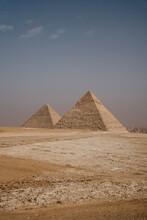 Egypt, Cairo, Ancient Giza Pyramids