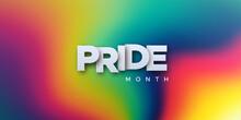 LGBTQ Pride Month. Vector Illustration.