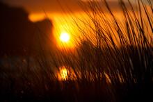 Sunset, Morro Rock, Pismo Beach
