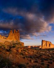 Desert Landscape On The West Coast, USA