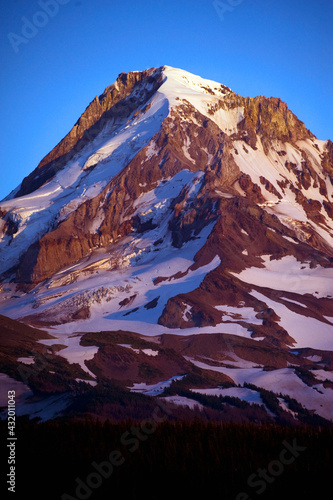 The north face of Mt. Hood, Oregon. Wall mural