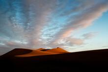 Sunset On The Dune Named Big Daddy In Sossusvlei, Namib-Naukluft National Park, Namibia.