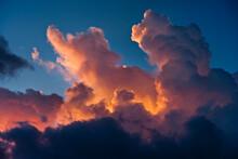Cumulus Clouds In The Tropics, Anquilla