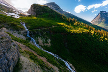 The Going-to-the-Sun Road In Glacier National Park, Montana, USA