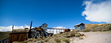 A View Of The Gold Mine At Bodie Historic State Park, California.