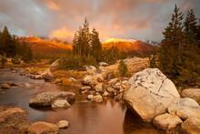 Yosemite High Country Sunset, Yosemite National Park