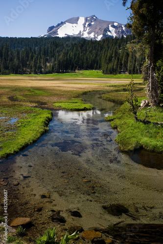 Kings Creek, Lassen Volcanic National Park, Cascade Range Wall mural