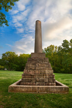 Meriwether Lewis Monument, Natchez Trace Parkway, Tennessee And Mississippi, USA