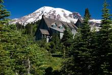 Paradise Inn, Cascade Range, Mount Rainier National Park