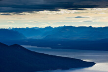 The Sunrise Above Lake TeAnau As Seen From The Kepler Trak In Fiordland National Park In New Zealand's South Island