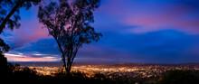 Dawn Over Santa Barbara, California, USA