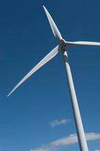 Windmill At Puget Sound Energy's Wild Horse Windfarm In Eastern Washington, Near Vantage USA.