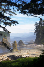 Ruby Beach, Olympic National Park, Washington, USA