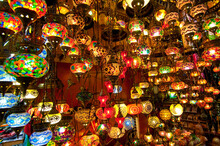 Items For Sale In The Grand Bazaar In Istanbul, Turkey