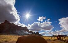 Navajo Hogan, Monument Valley Navajo Tribal Park