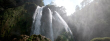 Waterfall In The Remote Highlands Of Guatemala