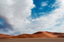 The Dunes Of Sossusvlei, Namib-Naukluft National Park, Namibia