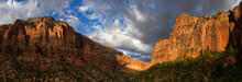 The East Temple And The Great Arch, Angels Landing, Zion National Park