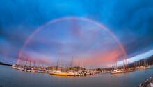 Sunrise At Santa Barbara Harbor