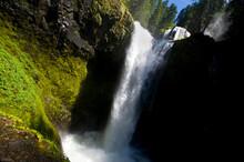 Falls Creek Falls In Washington.