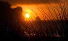 Sunset, Morro Rock, California