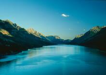 Sunset At Waterton Lakes National Park, Alberta, Canada