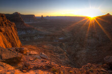 Canyonlands National Park: False Kiva