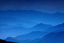 Blue Ridge Mountains, Blue Ridge Parkway, North Carolina