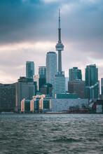 Toronto Ontario Skyline Photo Winter