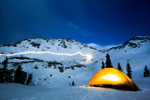 Winter Backpacking In The Wasatch Mountains