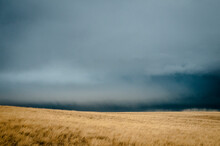 Stormy Skis Over Eastern Montana.