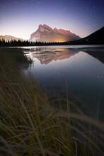 Mount Rundle Vermillion Lakes Composite