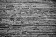 Pared O Suelo Con Textura En Blanco Y Negro