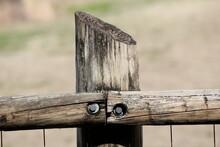 Wood Cross Fence