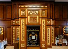 Inside Of Synagogue Kele-Numaz In Derbent