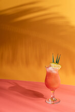 Tropical Summer Cocktail
