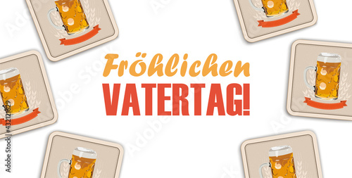 Fröhlichen Vatertag - fototapety na wymiar