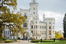Beautiful Hluboka Castle In Czech Republic