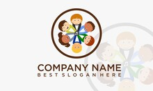 A Logo That Shows A Children's Music Group, Suitable For Your Company That Runs In The Field Of Children's Music Or Maybe Something Else :)