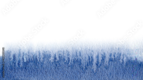 Fototapeta Gradient with  Blue, Blackcurrant color. Abstract watercolor wash painting.  Space for your wallpaper, text, cards, web. obraz