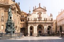 Church Of The Holy Saviour In Prague