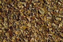 Closeup Of Dried Oregano