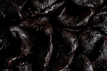 Closeup Of Black Garlic