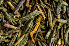 Closeup Of Dried Thyme