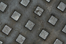 Abstracts And Textured Surface Around The Neighbourhood / Abstract Backgrounds / Road Surfaces, Floor Surfaces, Manhole Covers And Walkways
